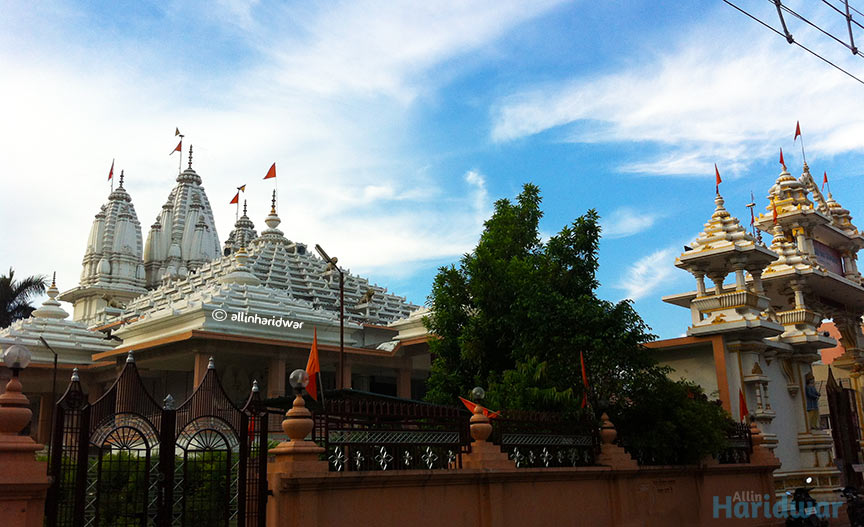 Tulsi Manas Mandir Haridwar तुलसी मानस मंदिर